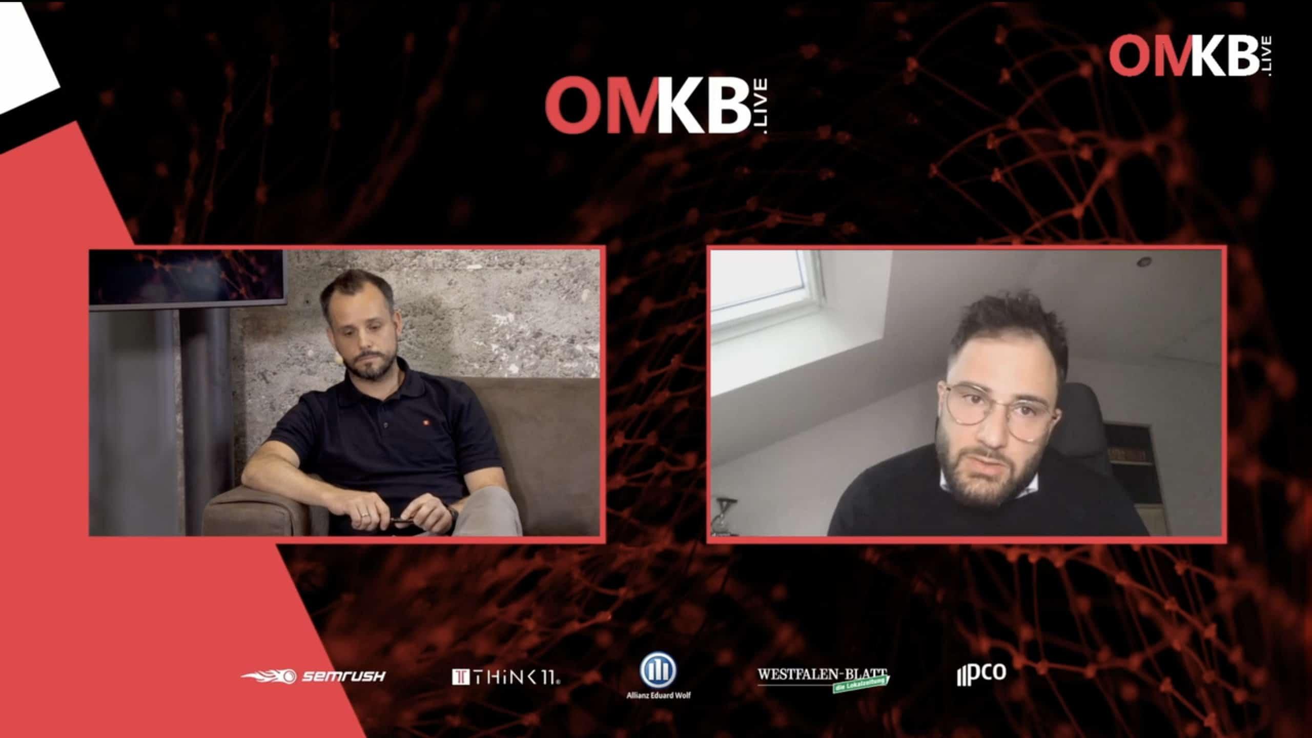 Jonas Rashedi OMKB.live hosted by Think11